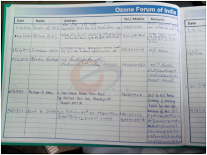 Ozone Forum of India: Case Studies on Ozone Therapy by Members